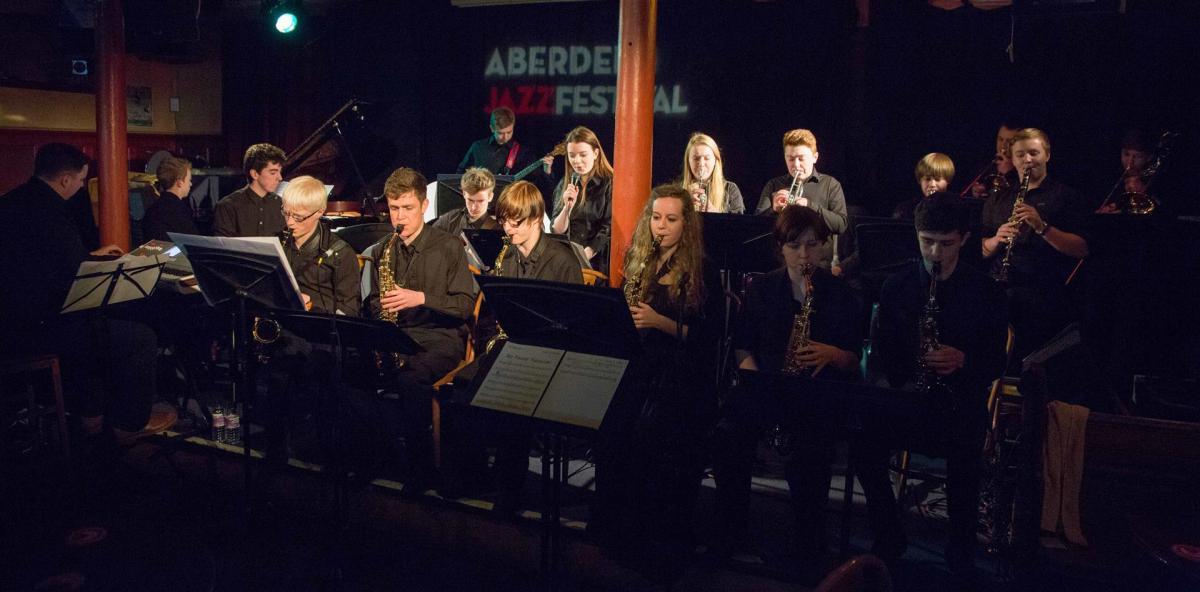 The Blue Lamp, Aberdeen Jazz Festival, March 2014