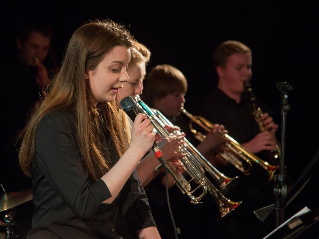 Jazz vocals at The Blue Lamp, Aberdeen Jazz Festival 2014