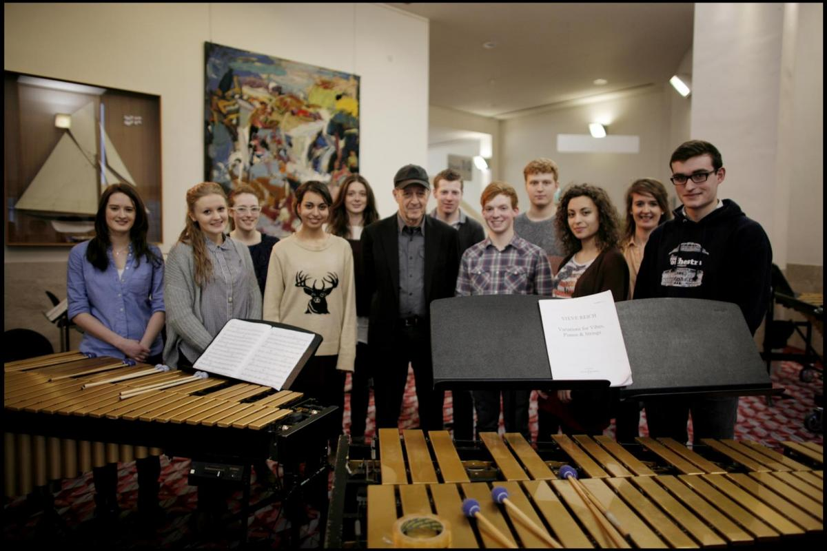 NYOS Futures 2013 with Steve Reich at Glasgow Royal Concert Hall