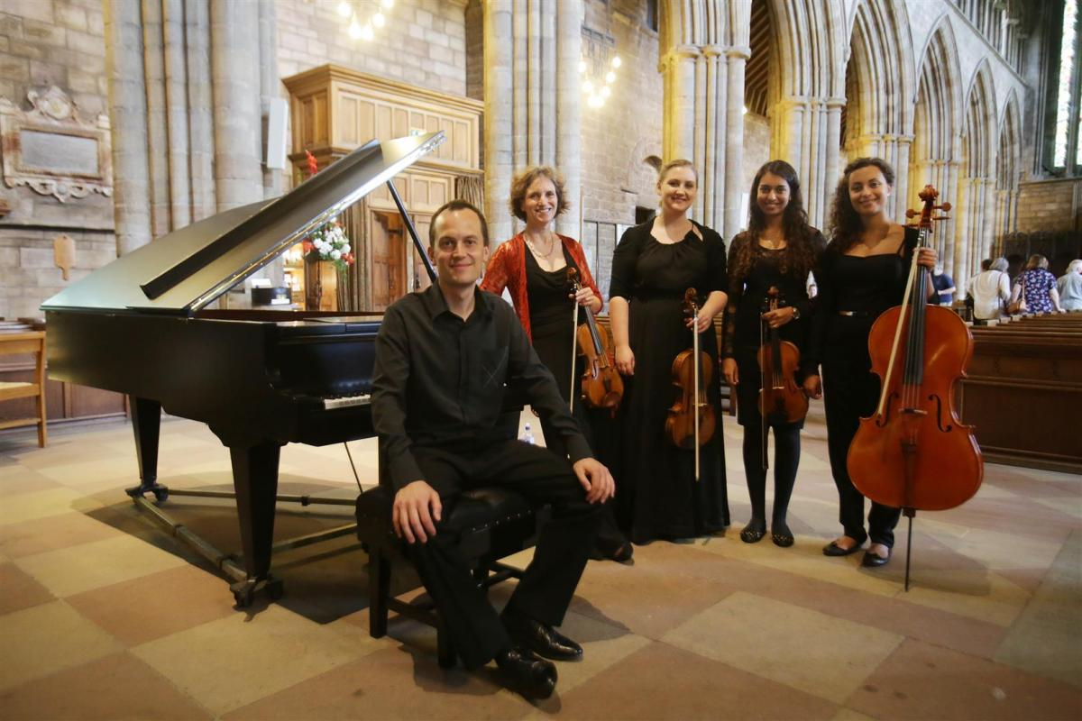 NYOS Furures 2014 with Hebrides Ensemble at Dunblane Cathedral