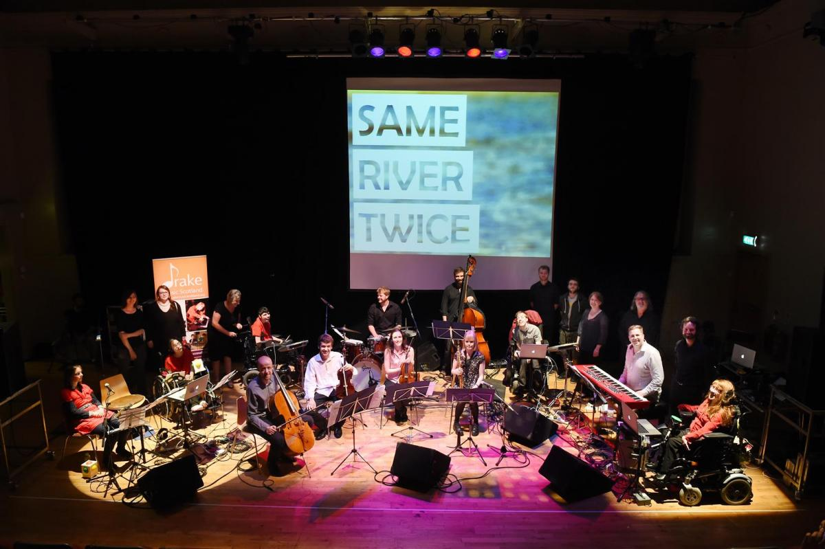 NYOS Collective and Drake Music Schools' Digital Ensemble at The Tollbooth, August 2014