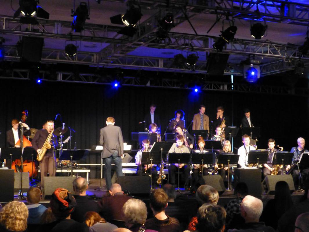 NYOS Jazz Orchestra at London Jazz Festival 2014