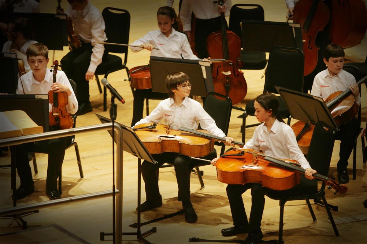 Contented young cellists after an excellent performance at Perth Concert Hall July 2014