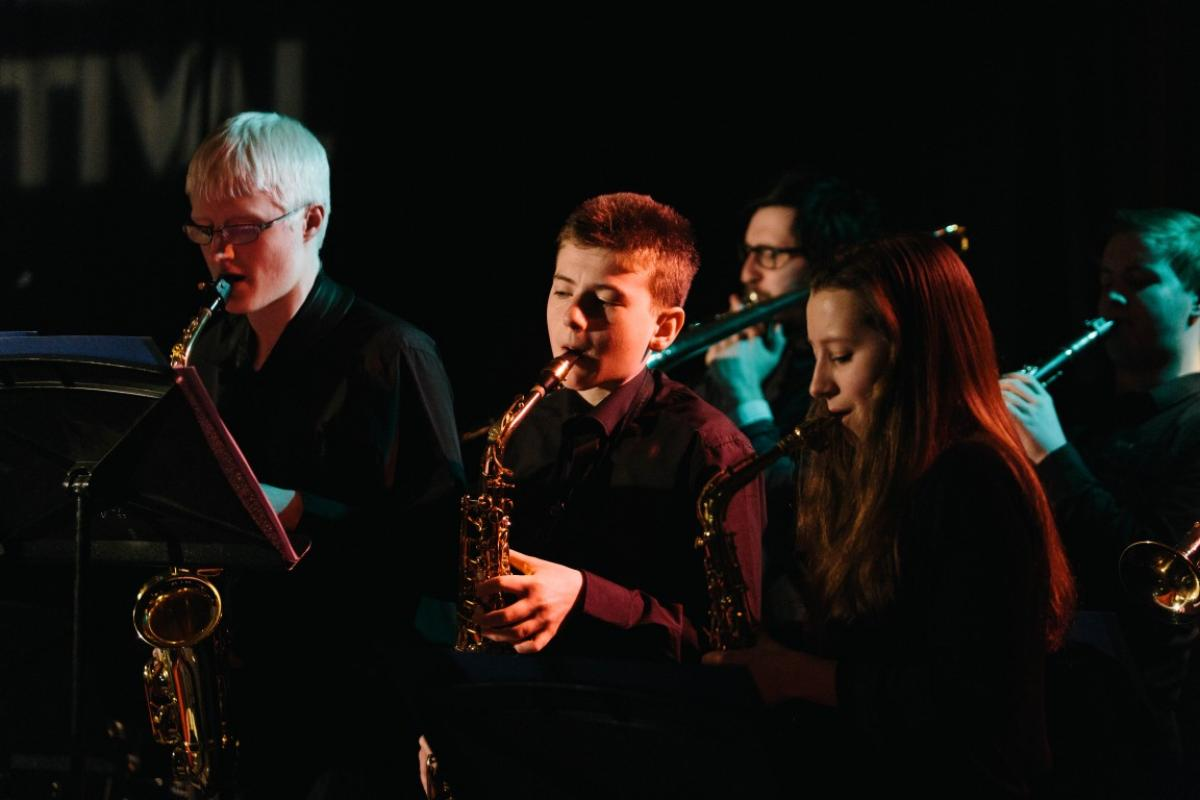 NYOS Jazz Access at The Blue Lamp, March 2015