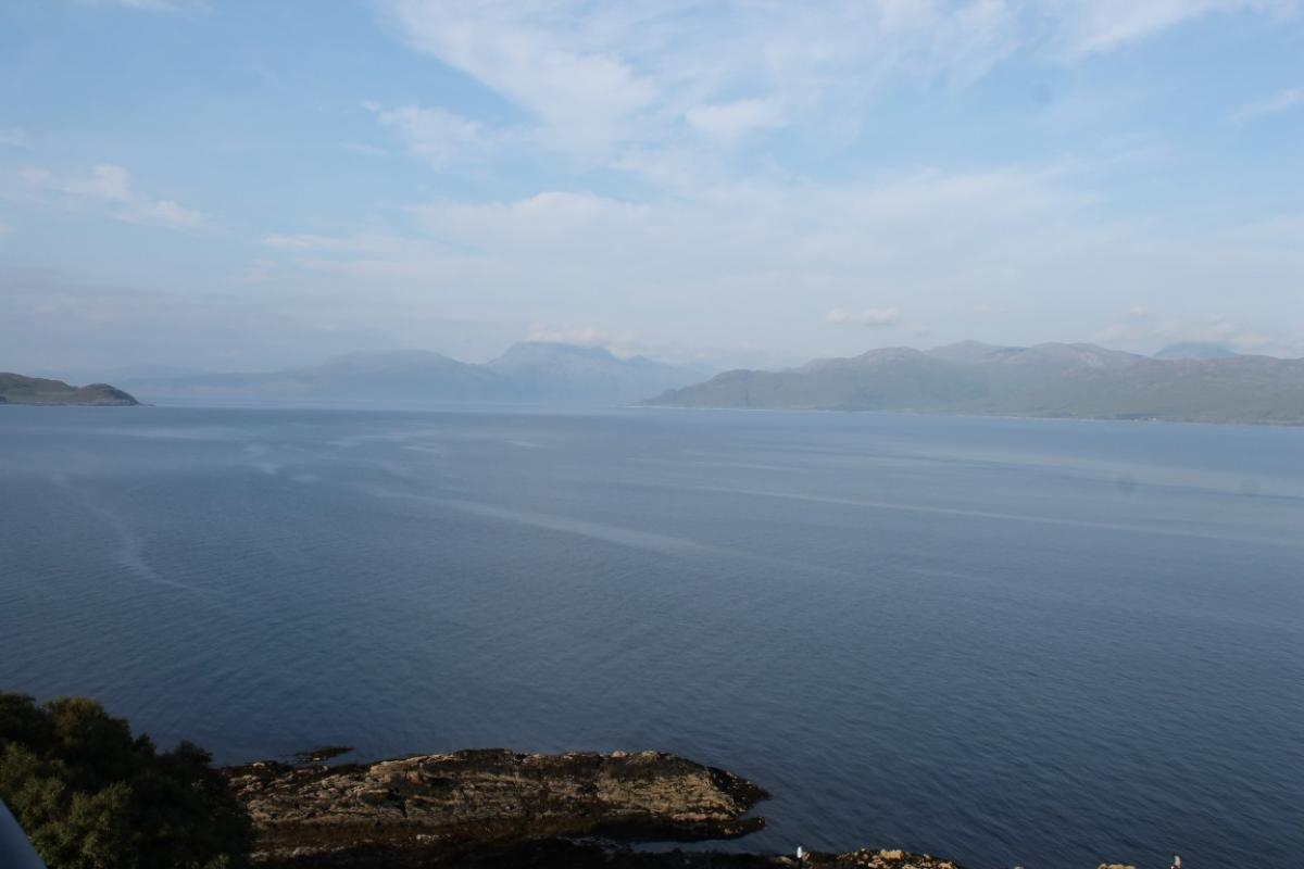 Spectacular views from the Summer School on Skye