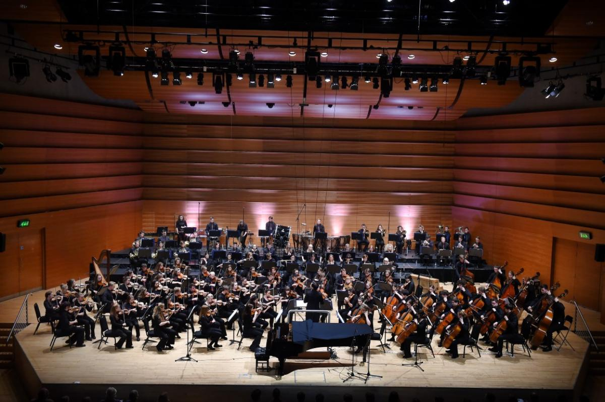 NYOS Symphony Orchestra's 'bon voyage' concert conducted by Rory Macdonald at Perth Concert Hall, July 2015