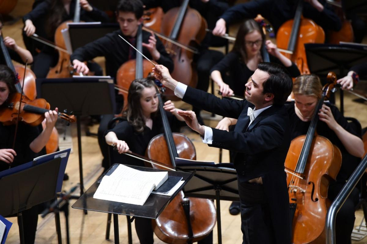 NYOS Symphony Orchestra conducted by Rory Macdonald at Perth Concert Hall, July 2015