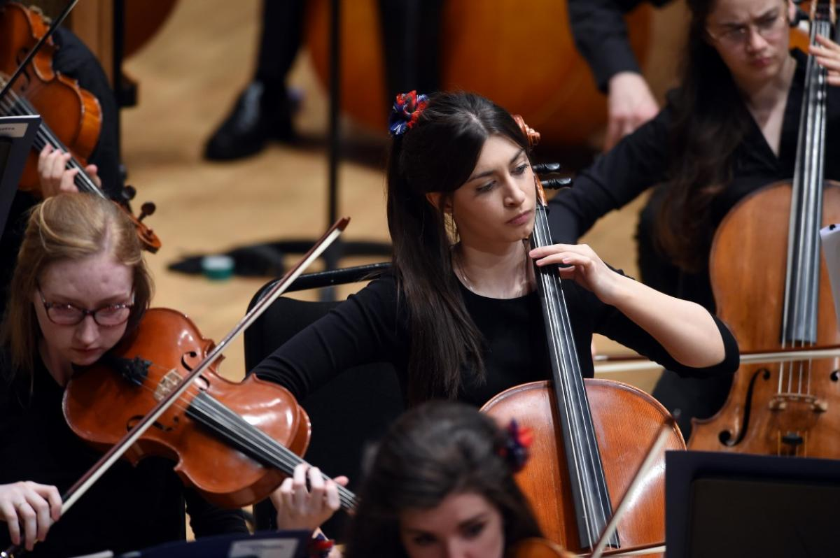 NYOS Symphony Orchestra's special 'bon voyage' performance at Perth Concert Hall, July 2015