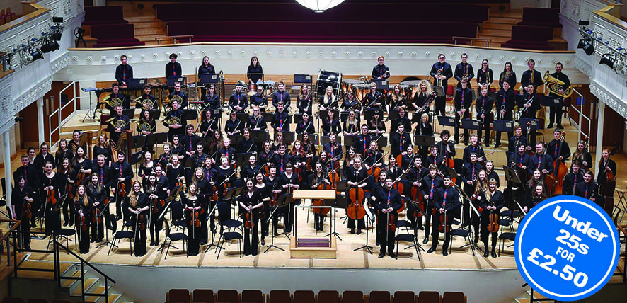 NYOS Symphony Orchestra at Glasgow's City Halls 2015