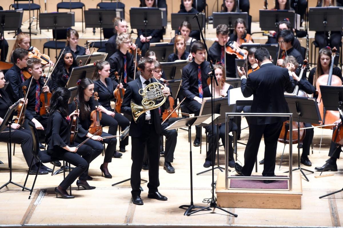 NYOS Symphony Orchestra, with Alec Frank-Gemmill at City Halls, Glasgow 9/4/16