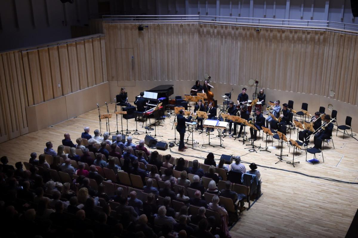 NYOS Jazz Access performing at The RSNO Auditorium GRCH