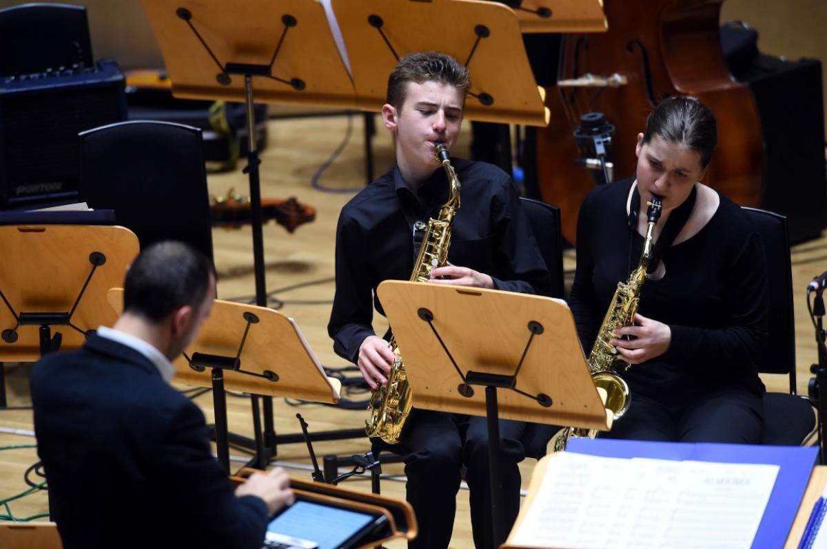 NYOS Jazz Access performing at The RSNO Auditorium GRCH