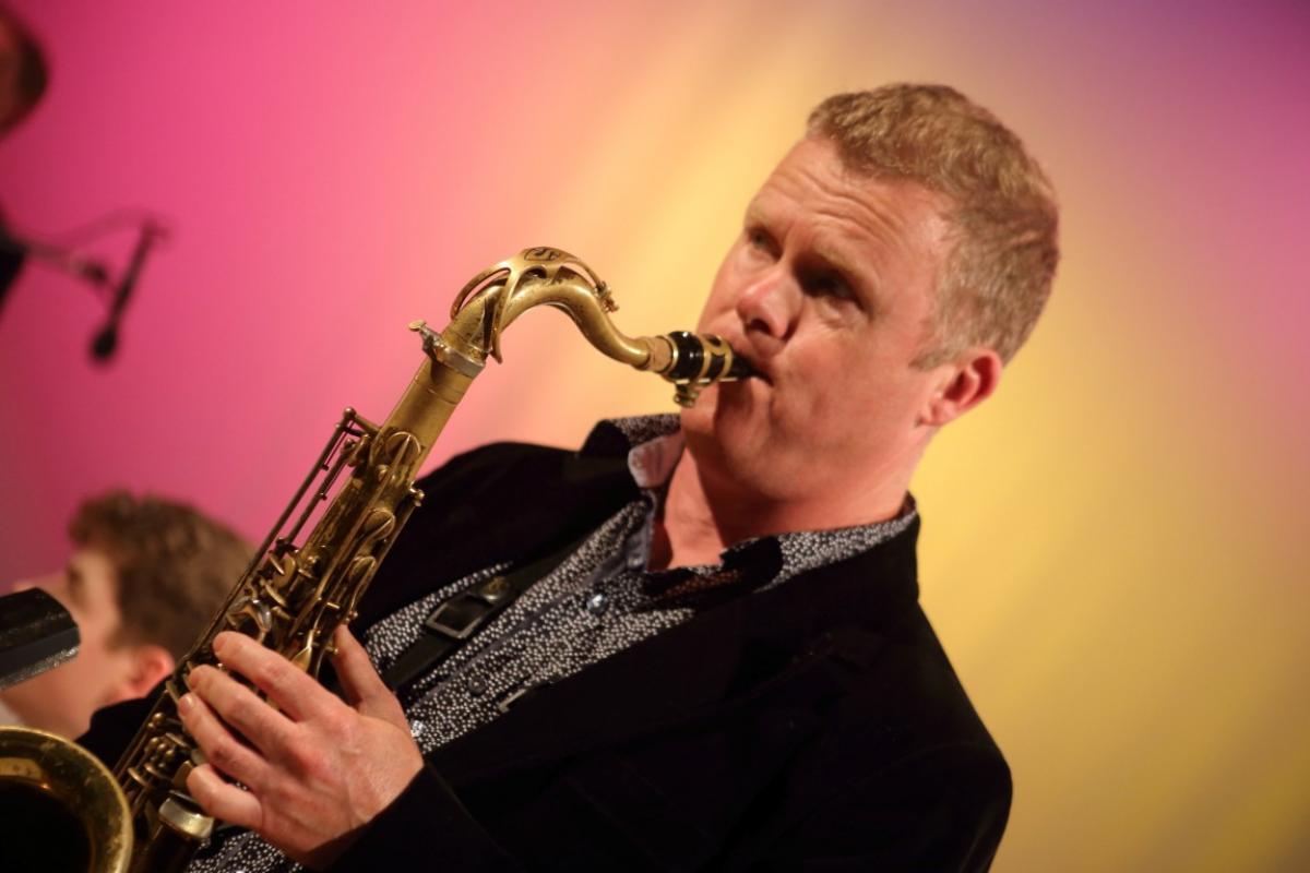 Iain Ballamy with NYOS Jazz Orchestra