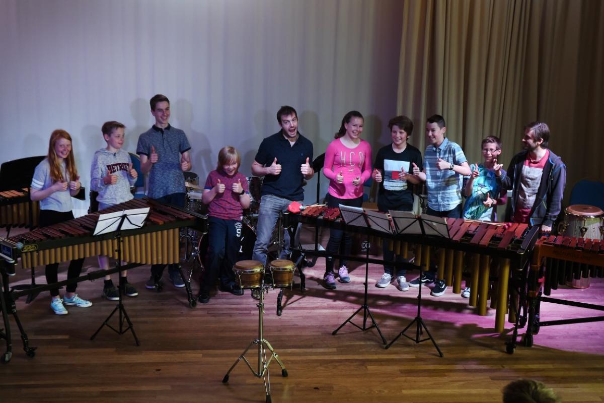 Percussion Ensemble Trainining