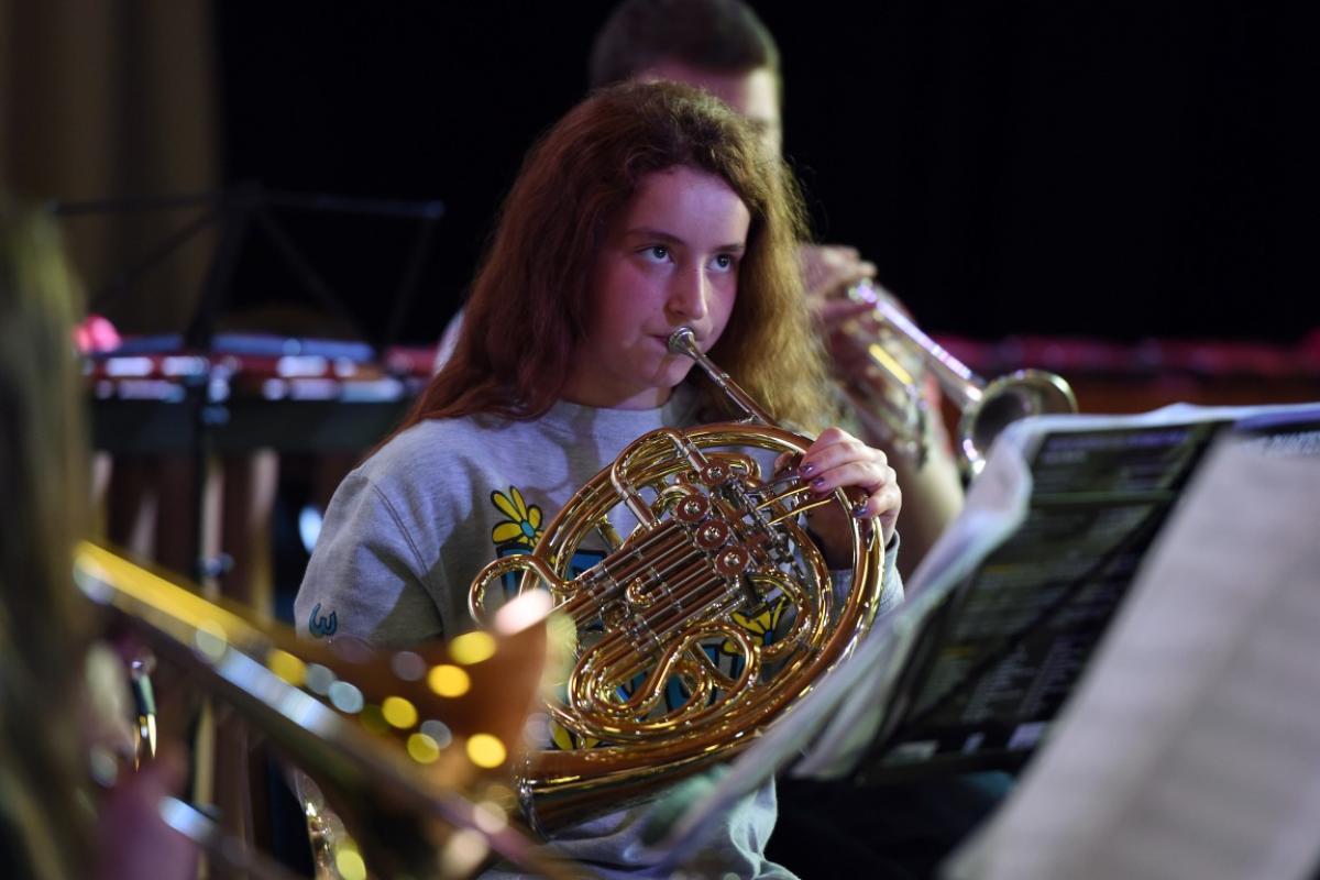 Brass Ensemble Trainining
