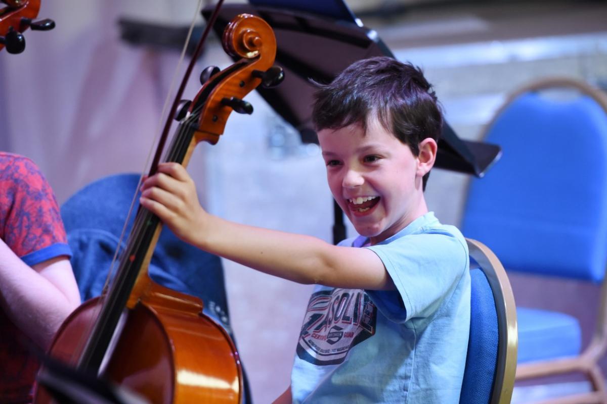 String Ensemble Trainining