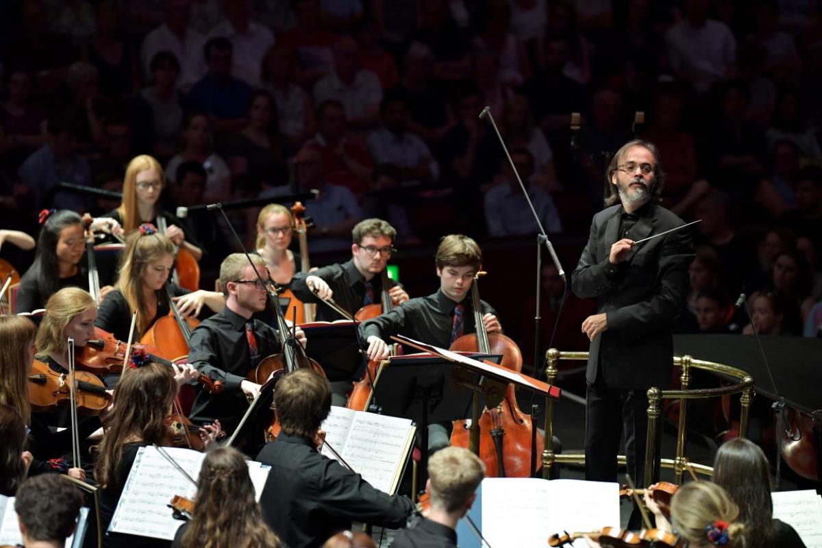 NYOS Symphony Orchestra with Ilan Volkov