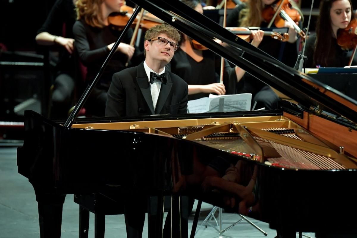Pianist Pavel Lolesnikov with NYOS Symphony Orchestra
