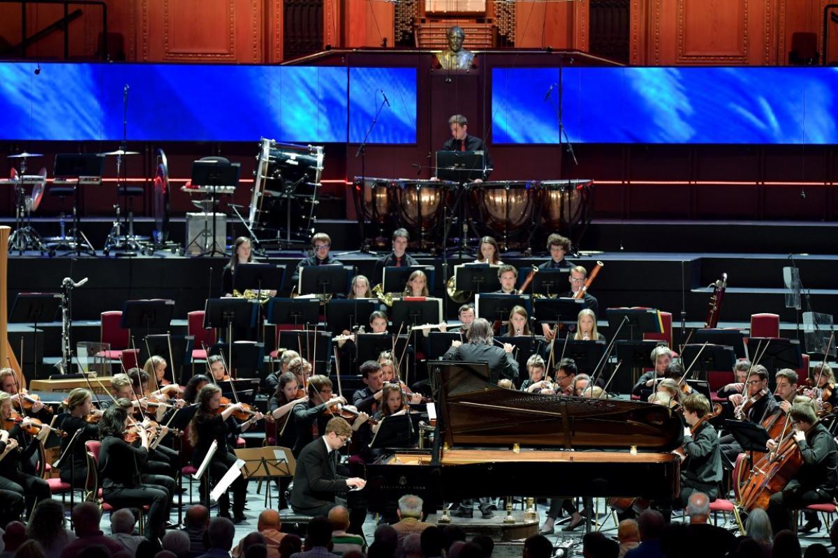 NYOS Symphony Orchestra at the Royal Albert Hall