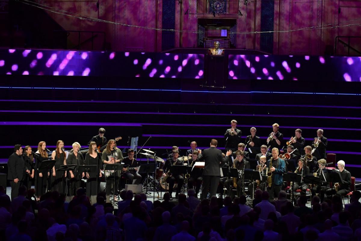 NYOS Jazz Orchestra at the Royal Albert Hall 2016