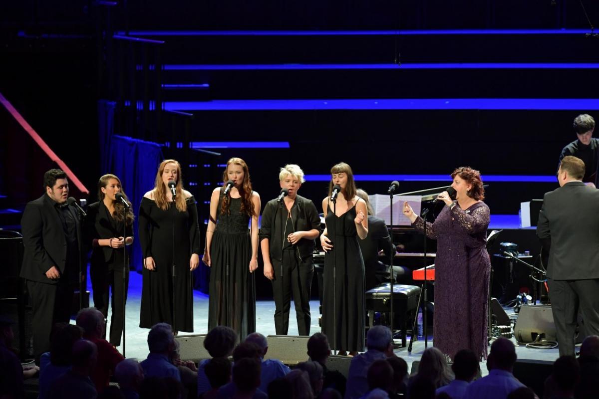 Liane Carroll with Jazz Choir and NYOS Jazz Orchestra at the Royal Albert Hall