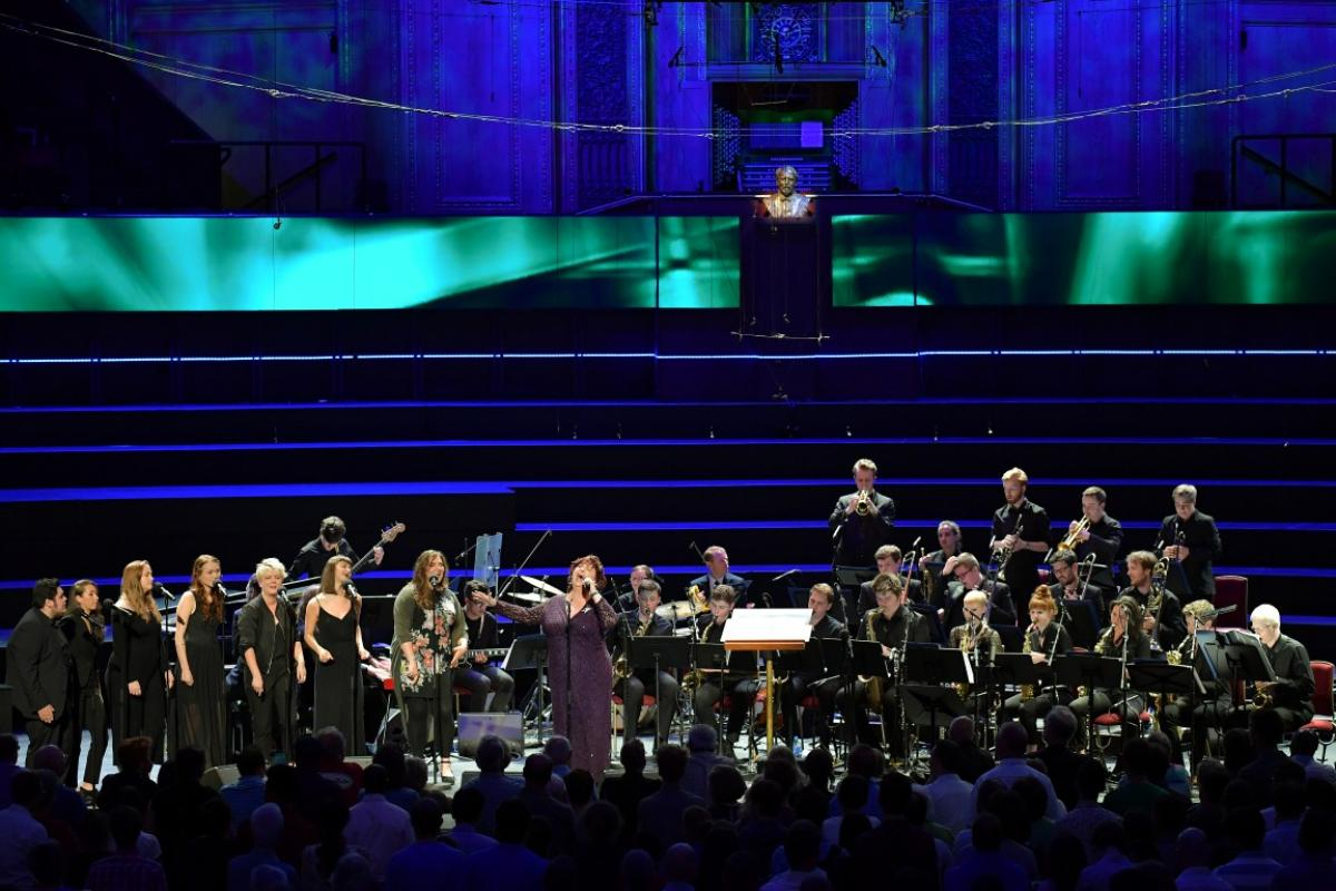 NYOS Jazz Orchestra at the Royal Albert Hall 2016