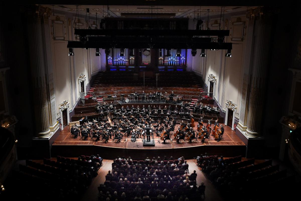 NYOS Symphony Orchestra at the Usher Hall, April 2017