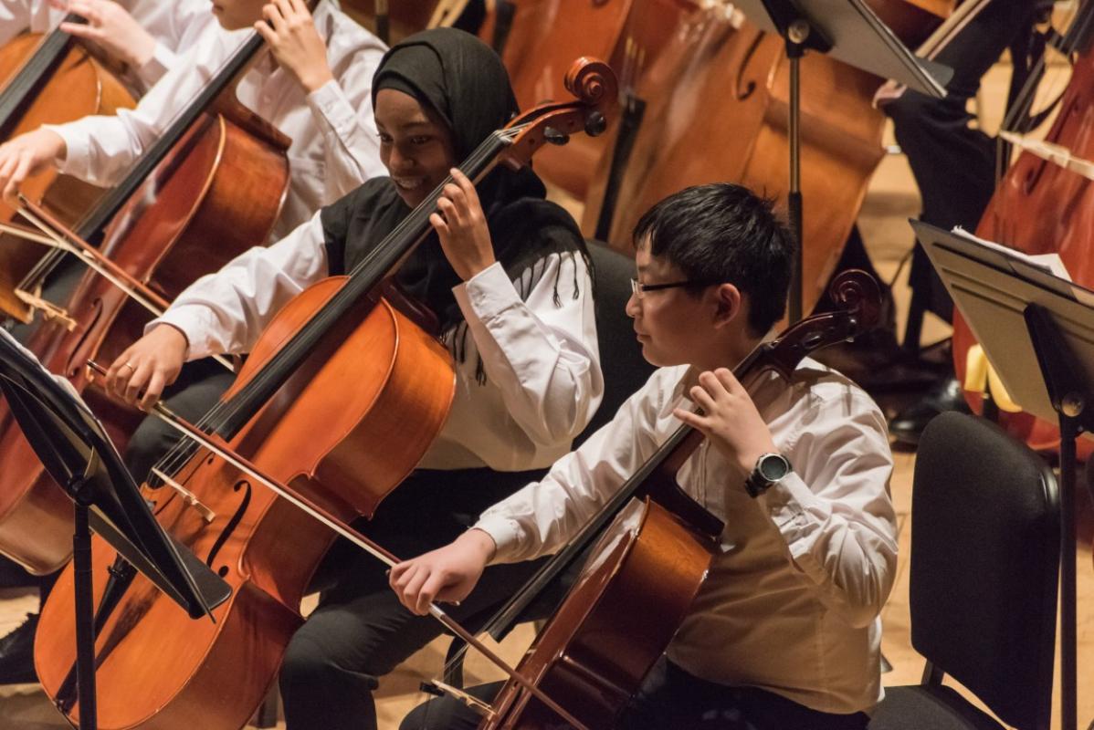 Happy cellos at Stevenson Hall, Royal Conservatoire of Scotland, April 2017