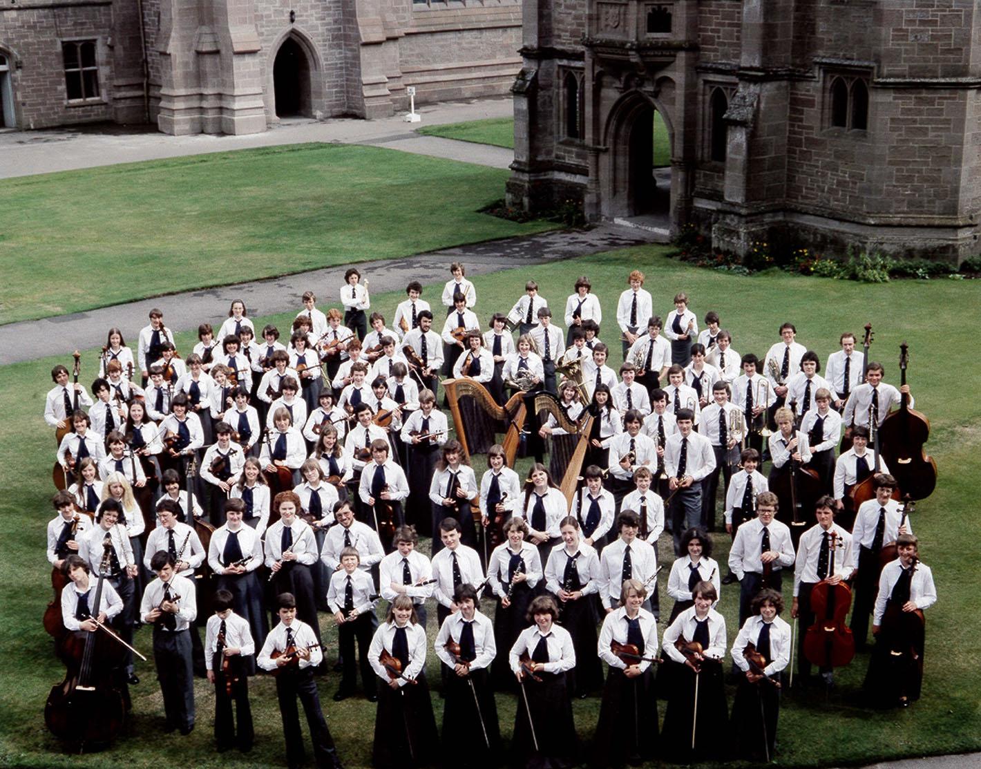 NYOS Symphony Orchestra 1979
