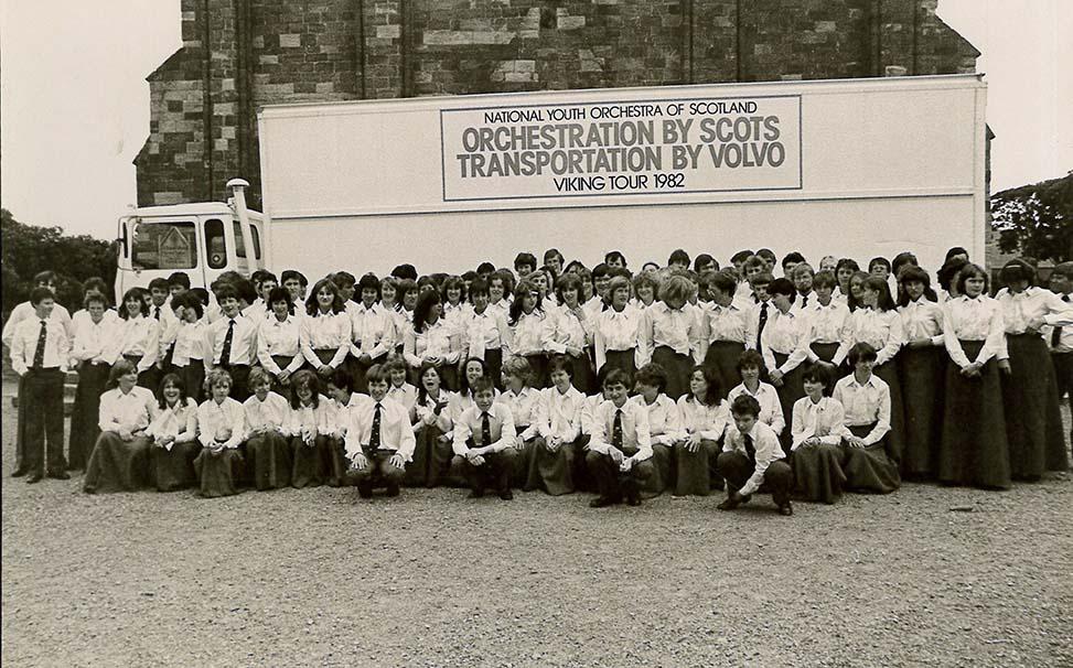 NYOS Symphony Orchestra 1982