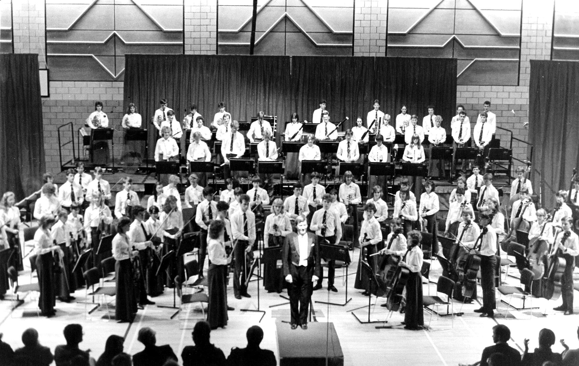 NYOS Symphony Orchestra 1986