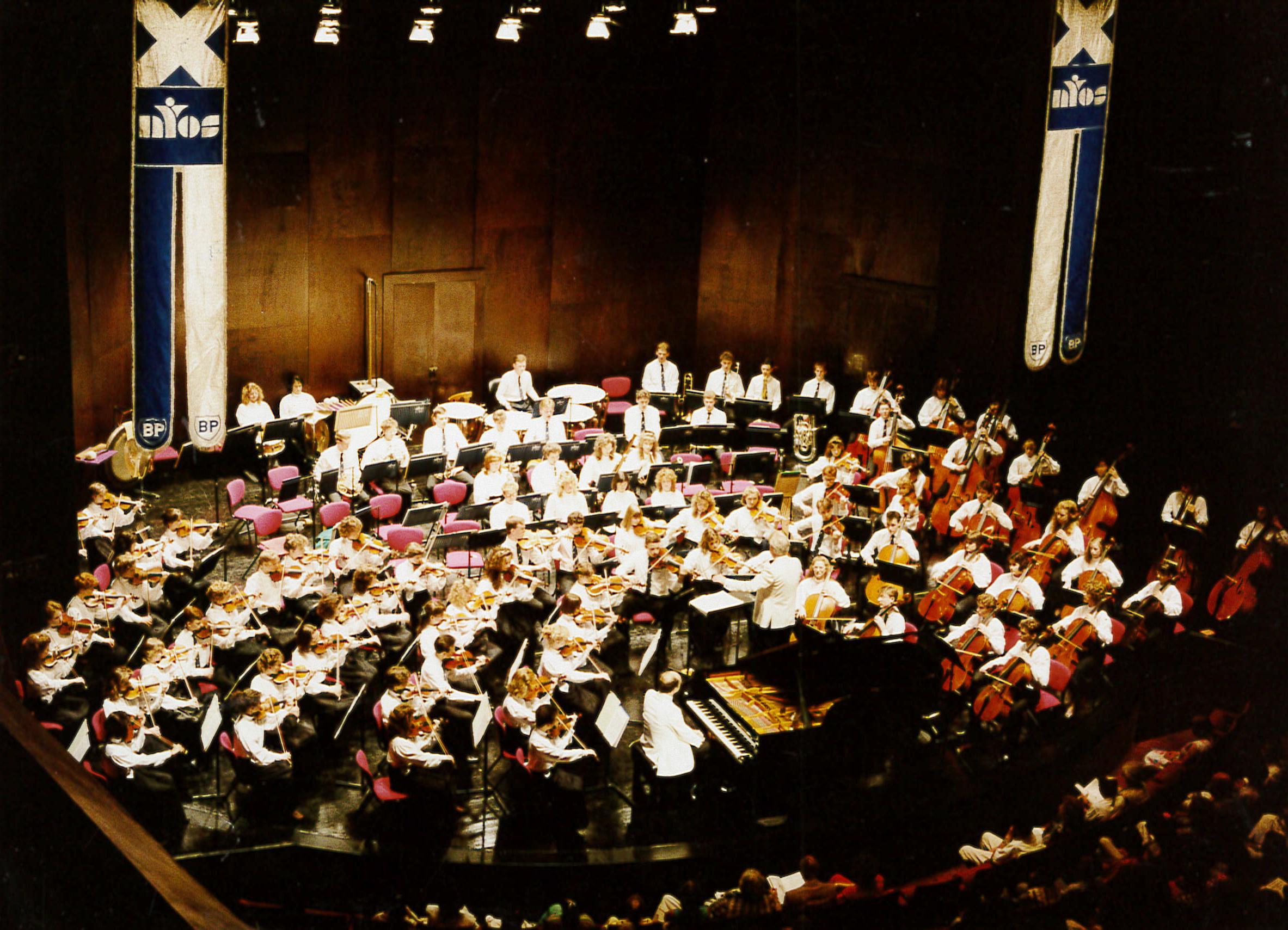 NYOS Symphony Orchestra 1988