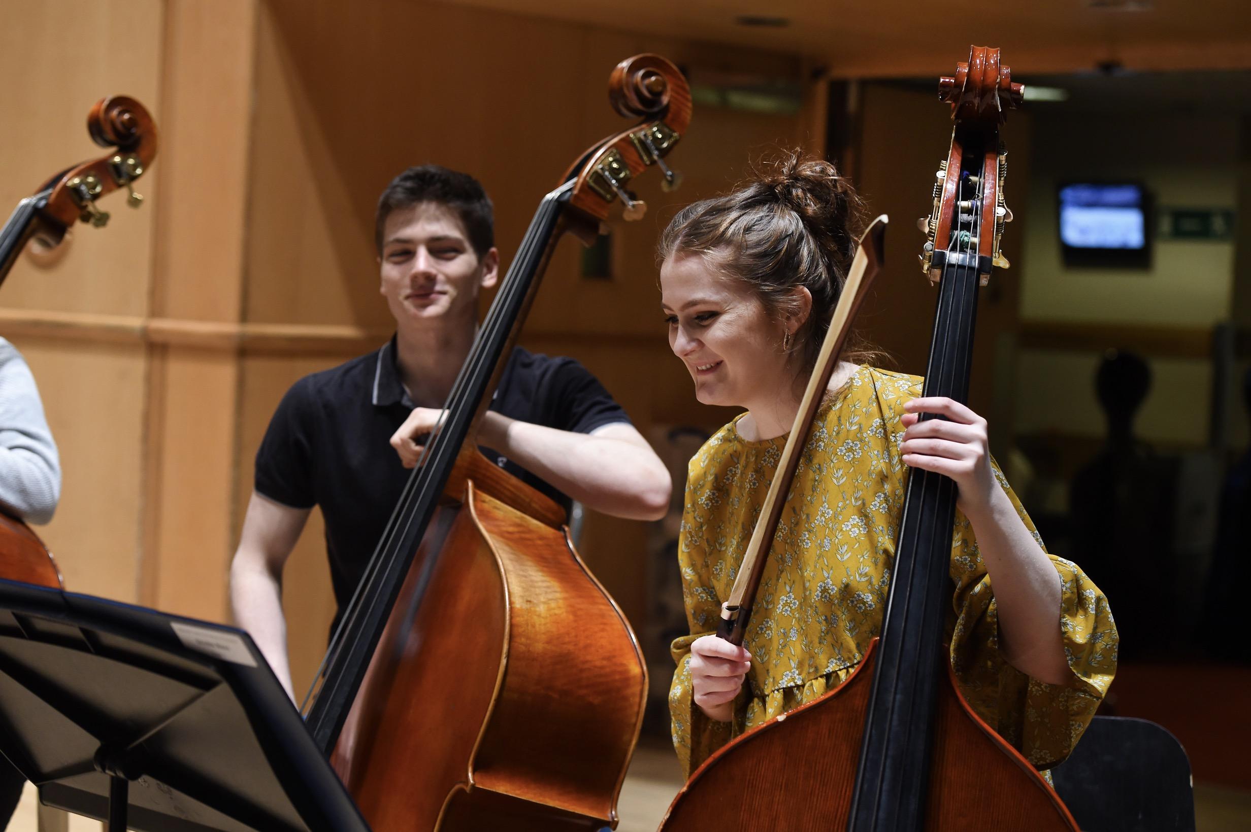 Brendan Norris & Jennie Gillespie, Double Bass