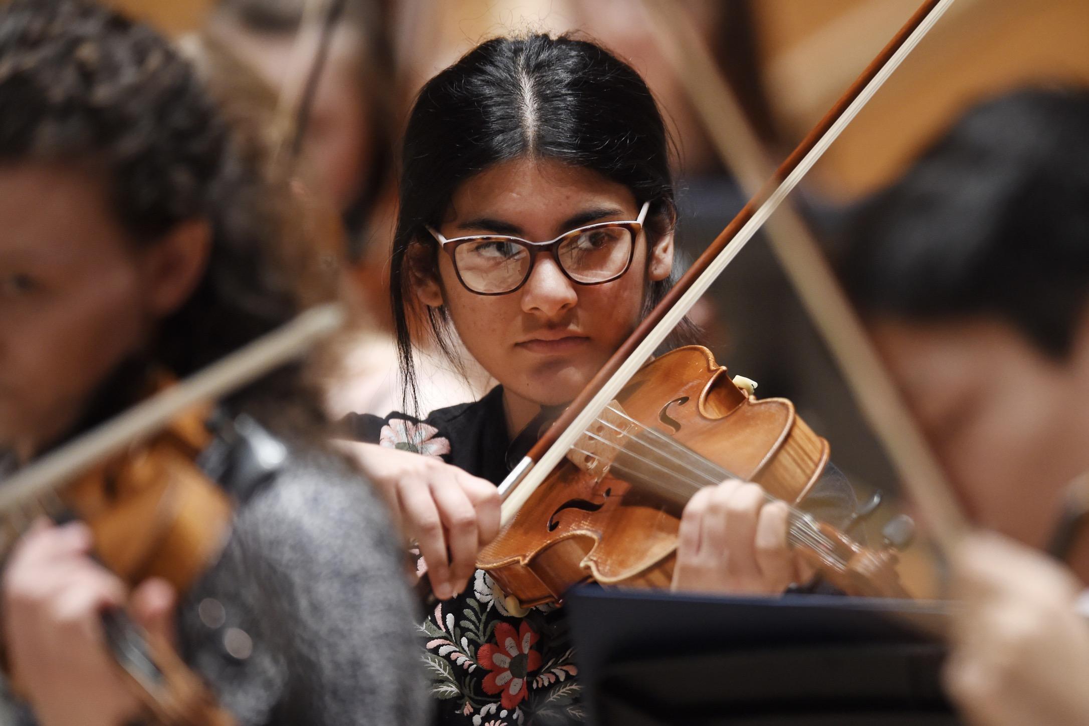 Lisa Abraham, Violin