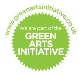 We are part of the Green Arts Initiative